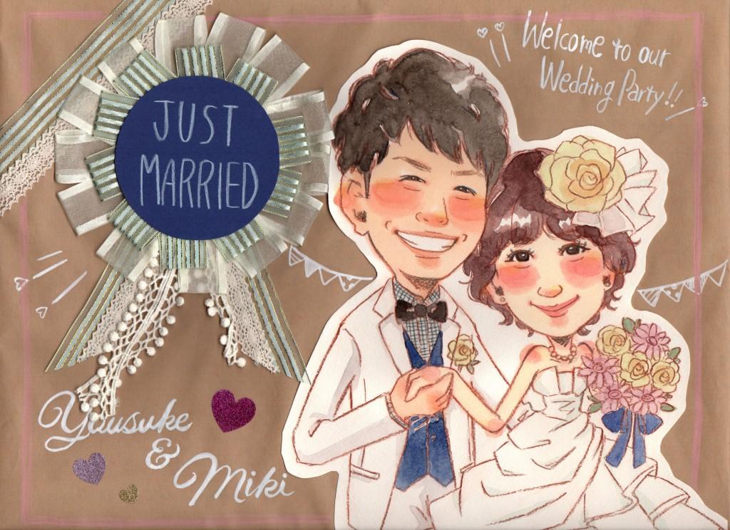 【結婚式ウェルカムボードまとめ】似顔絵・写真・文字のみを比較